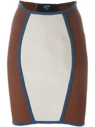панельная юбка Jean Paul Gaultier Vintage