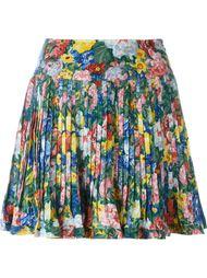 pleated floral skirt  Kenzo Vintage