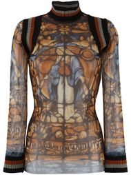 Virgin Mary printed top  Jean Paul Gaultier Vintage