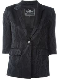 snake skin effect jacket Unconditional
