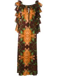 ruffles florar dress Jean Paul Gaultier Vintage