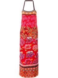 floral intarsia tube dress  Kenzo Vintage