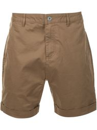 turn up hem shorts Zanerobe