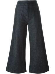 cropped super wide trousers Victoria Victoria Beckham