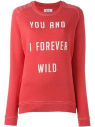 forever wild print sweatshirt Zoe Karssen