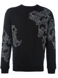 floral print sweatshirt Versace