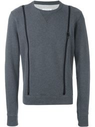 zip detail sweatshirt Maison Margiela