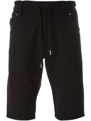 drawstring denim shorts Diesel