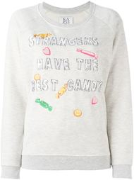 embroidered candy sweatshirt Zoe Karssen