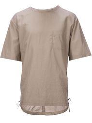 футболка с нагрудным карманом  monkey time