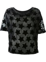 velvet star patch blouse  Mihara Yasuhiro