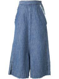 джинсовые кюлоты Mihara Yasuhiro