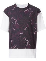 футболка с цветочным принтом  En Route