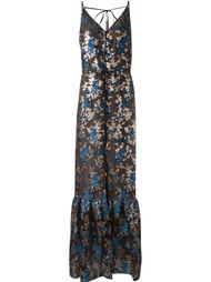 floral pattern maxi dress Lanvin