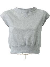 open back sweatshirt  Mihara Yasuhiro