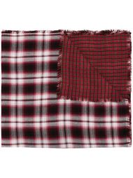 checked scarf Diesel