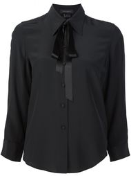 crêpe de chine bow shirt   Marc Jacobs