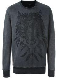 bear print sweatshirt Diesel