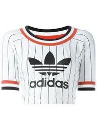 укороченная футболка с логотипом Adidas Originals