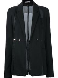 removable lapel oversized jacket Jason Wu