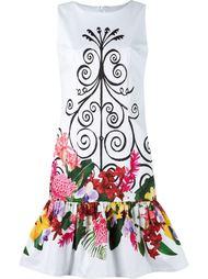 panelled floral dress Isolda