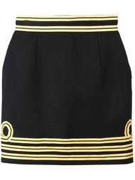 юбка с контрастной окантовкой Dsquared2