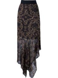 mid-length tricot skirt Cecilia Prado