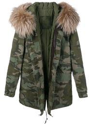 куртка с отделкой мехом енота Mr & Mrs Italy