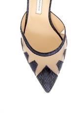 Кожаные туфли Alexa Bionda Castana