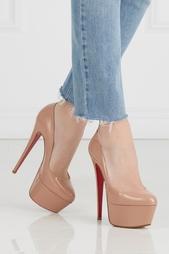 Туфли из лакированной кожи Victoria 160 Christian Louboutin