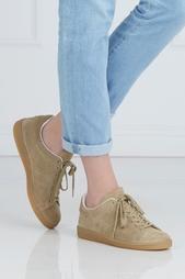 Замшевые кроссовки Isabel Marant Etoile