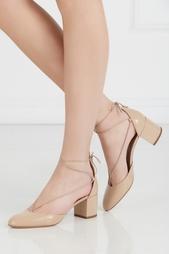 Туфли из лакированной кожи Alexa Aquazzura