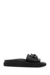 Кожаные сандалии с вышивкой Simone Rocha