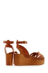 Кожаные сандалии на платформе Isabel Marant Etoile