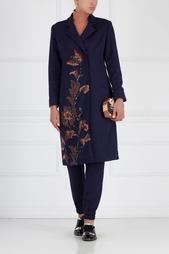 Пальто с вышивкой Joplin Asian Spirit