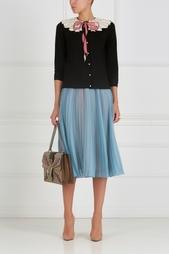 Шелковая юбка Gucci