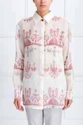 Льняная рубашка Izba Rouge