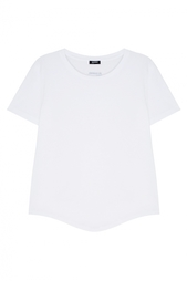 Хлопковая футболка Jil Sander Navy