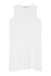 Однотонное платье Caprice Acne Studios