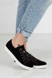 Вельветовые кеды Purrrfect Sneakers Charlotte Olympia
