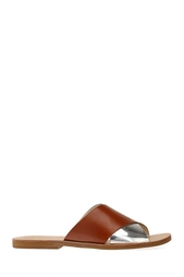 Кожаные сандалии Jil Sander Navy