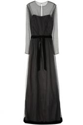 Шелковое платье (60-е) Malcolm Starr Vintage