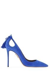 Замшевые туфли Forever Marilyn Aquazzura