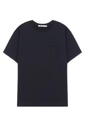 Хлопковая футболка T by Alexander Wang
