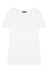 Однотонная футболка The Row