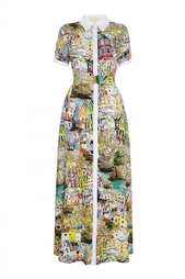 Хлопковое платье Nataniel Dobryanskaya