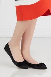 Туфли из сатина Oscar de la Renta