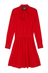 Шелковое платье Boutique Moschino