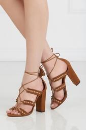 Замшевые босоножки Tulum Sandal Aquazzura