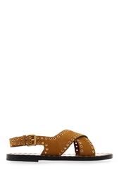 Замшевые сандалии Isabel Marant